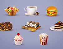 15 Tasty PSD Icons