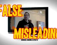Joe Miklosi Attack Ad 2012