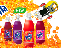 Fanta Floating Banner Ad