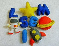 Stop motion and felt craft for baby Selim