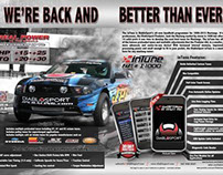 2011 thru 2013 Magazine Ads