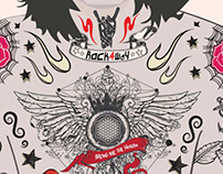 Oli Skyes X Bring Me To Horizon X Rockaway 2013