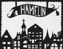 Paper Cut _ The pied piper of Hamelin
