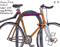 Sketchbook: Washington, DC Bicycles