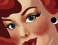 Pinup Illustration