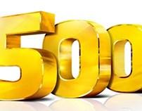 Typography 500