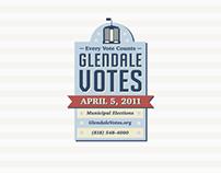 Glendale Votes Logo