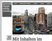 Адаптивная html-верстка для «Adworks Media GmbH»