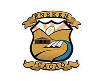 Eneken Cacao Brand; Logo, web and  advertising