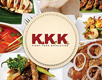 KKK Pinoy Food Revolution (Menu)