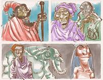 comic page thumbnails