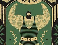 wrocław tattoo konwent | promo posters