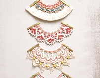 Embellished Lace Necklaces