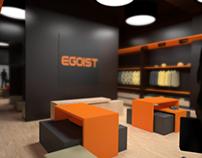 Stylish men's clothing store EGOIST in Bishkek
