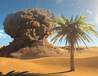 Explode in Sahara