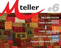 M-teller Magazine - Layout