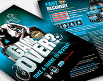 "Flyer ""Fast Recovery"""