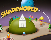 Shapeworld Wallpaper Creation