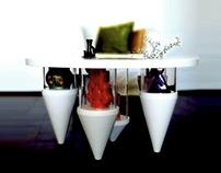 Stalattite coffee table by Lulghennet Teklè