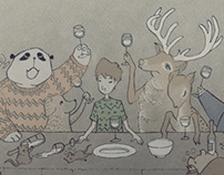 The Last Supper in The Animal Kingdom