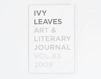 Ivy Leaves Art & Literary Journal 2009