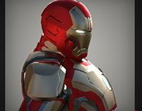 Iron Man Mk 42 visualization
