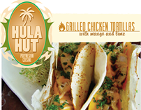 Commercial Work- Hula Hut Branding and Identity
