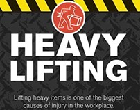 Heavy Lifting Infographic