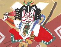 KABUKI illustrations