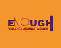 Enough Violence Against Women Poster Series