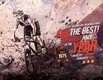 Mountain Bike / MTB Flyer A5 Size