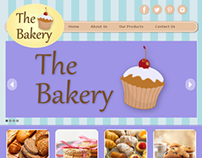 The Bakery - Website Concept