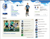 Chernomorets Football Club site second edition