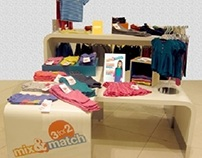 3 for 2 mix d match baby wear table
