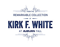 Kirk F. White Collection Auction Branding