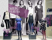AW12 Must Haves Maternity Window