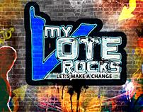 Graffiti - My Vote Rocks