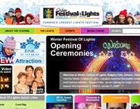 Winter Festival of Lights Website