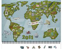 Global Ocean Link 2011 calendar