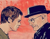 Dexter Morgan meets Walter White