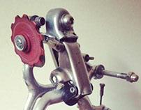 Upcycled bikebot /// Name: Overkiller V.2