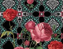 Malagueta Fashion . Roses print