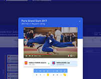 Judo Competition Management Software