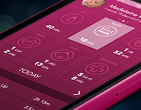 Total Baby Mobile App Conceptual Redesign
