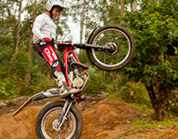 Trials - Bike trials competition and trainng.