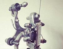 Upcycled bikebot /// Name: Overkiller V.1