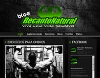 Layout - Blog Recanto Natural