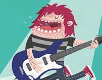 Band illustrations