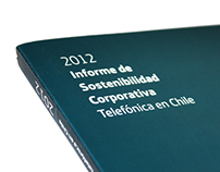 Corporative Sustainability Report - Telefónica Chile
