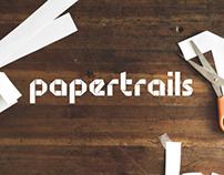 Papertrails Display Typeface